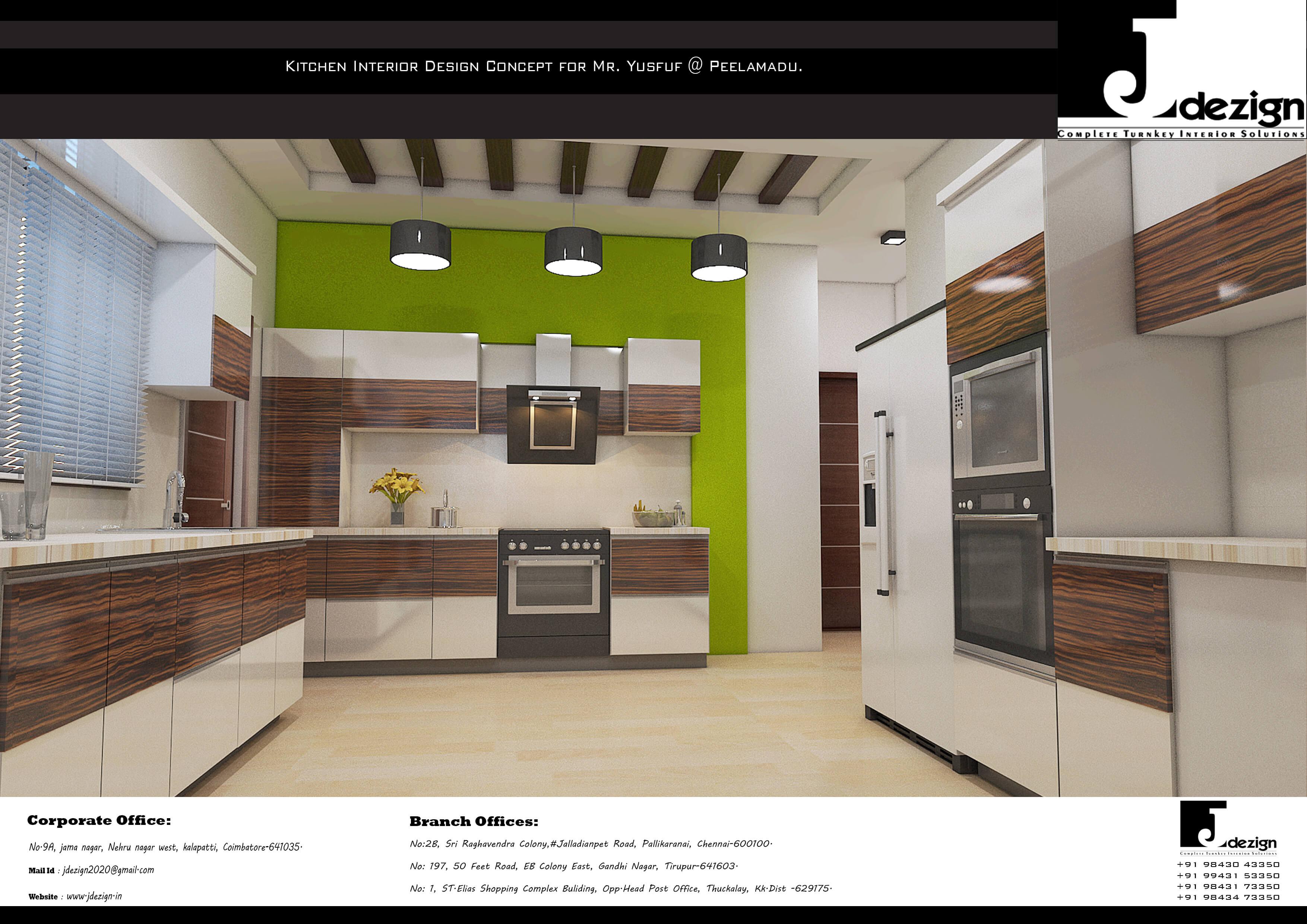Modular Kitchen in Coimbatore   Jdezign.in