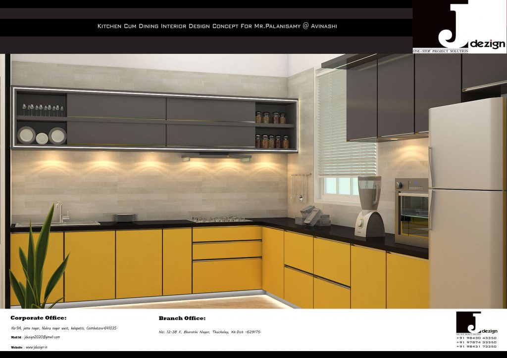 Modular Kitchen in Coimbatore